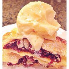 red velvet pie, dough pie