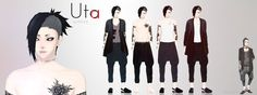 If you don't know who Uta is he is from Tokyo Ghoul okok