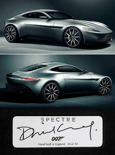 "✨ James Bond's ""Spectre"" Aston Martin DB10"