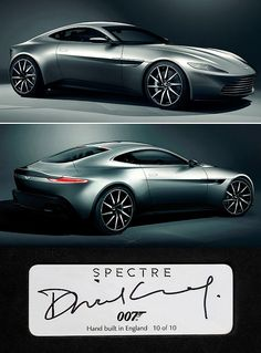✨ James Bond Spectre Aston Martin DB10 :::::::::: No. 10 of  10 http://www.top-sales-results.com/