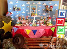 Ambientación Toy Story | Fiestas Cancheras