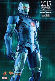 Hot Toys - Iron Man - Mark III (Stealth Mode Version) MMS314D12