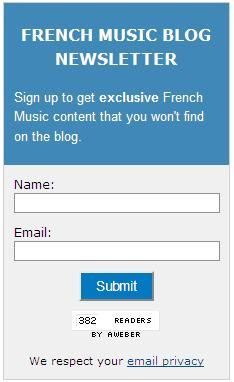 Sign up for the French Music Blog