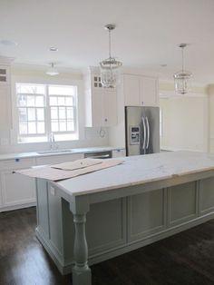 design indulgence: A project update....kitchen island. #kitchenislands