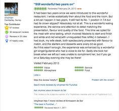 Latests reviews on TripAdvisor. Have you ever been to Armazém do Sal? Please rate us on TripAdvisor. Thank you for your candid comments.    On behalf of the staff of Armazém do Sal, it's truly an honor and a privilege to receive such encouraging and inspiring reviews. We are especially grateful for this and we look forward to welcome you again at Armazém do Sal. Thank you for coming, you honor us with your presence!