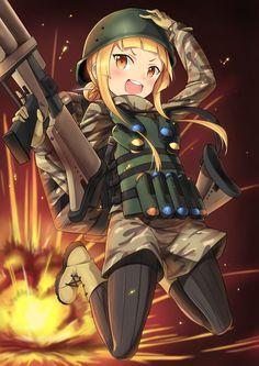 Gun Gale Online, Manga Anime, Otaku Anime, Sao Ggo, Sword Art Online Asuna, Anime Military, Girls Frontline, Japanese Art, Illustrations