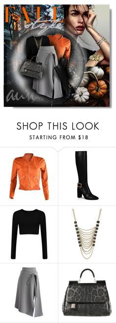 """Fall Style 2016"" by amymrbll ❤ liked on Polyvore featuring Roger Vivier, Lane Bryant, Chicwish, Dolce&Gabbana and polyvorefashion"