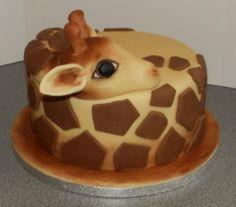 Giraffe - Cake by barbscakes