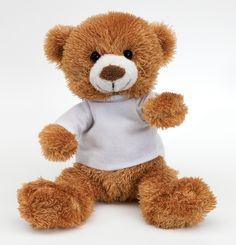 De teddybeer van de kleine broer van Sarah.