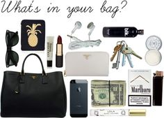 What's in your bag? par drinkacid utilisant...