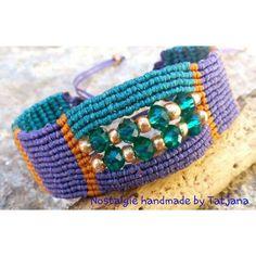 Macrame Design, Macrame Art, Macrame Projects, Micro Macrame, Macrame Jewelry, Macrame Bracelets, Crafts To Do, Arts And Crafts, Diy Rings