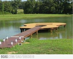 Now that's a Dock!
