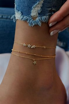 Rue Gembon Willow Butterfly Anklet - Anklet - Ideas of Anklet - Rue Gembon Willow Gold Butterfly Anklet Ankle Jewelry, Dainty Jewelry, Simple Jewelry, Ankle Bracelets, Cute Jewelry, Body Jewelry, Jewlery, Jewelry Bracelets, Jewelry Scale