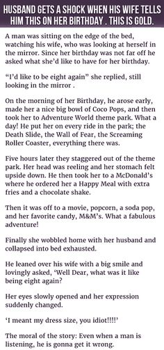 He Tried Doing Something Nice For His #Wife's #Birthday. Her Response Is…