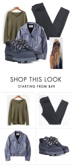 """#OOTD 5"" by triceyfashion ❤ liked on Polyvore featuring Acne Studios"
