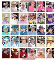a rainbow of queen elizabeth II
