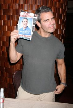 Andy Cohen is adorable Great Books To Read, Good Books, Amazing People, Good People, Andrew Cohen, Man About Town, Bravo Tv, Reality Tv Stars, Latest Books