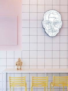 coffix: A Quirky, Colorful Coffee Shop in Athens, Greece - Design Milk