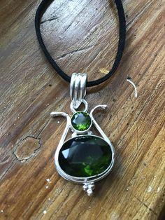 Peridot peridot necklace peridot pendant gemstone necklace