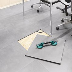 REVICOMFORT revolutionises the concept that a ceramic application has to be cemented, static, unchangeable and permanent. It brings together the technical characteristics of full body porcelain tiles (high resistance to use, resistance to stains and chemicals, shock resistance, fire resistance, inalterability, durability and it is easy to clean and maintain), ....Read more on our blog.