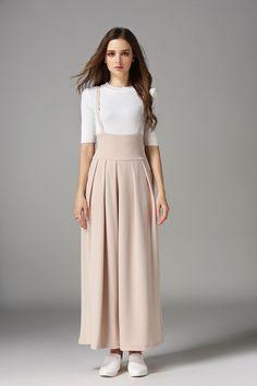 Tirantes Sueltos 2 Anchos Moda Asiática Tirantes Pantalones Mujer Falda Con Pantalones Fnwqf1Tgw
