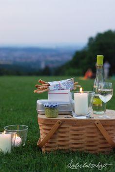schöne Picknick ideen - Liebesbotschaft: Family