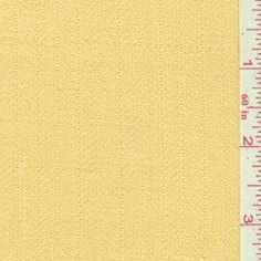 Golden Yellow Silk Suiting