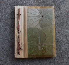 Vintage Handmade Sketchbook Natural History Notebook by goodngussy, $34.00