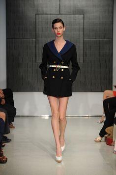 Stefano Pilati, estilista da maison francesa Yves Saint Laurent desfilou sua coleção resort 2012,