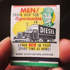 Vintage matchbox.
