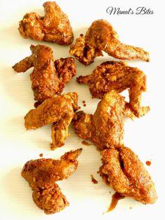 اجنحة الدجاج بالثوم والعسلHoney Garlic Chicken Wings