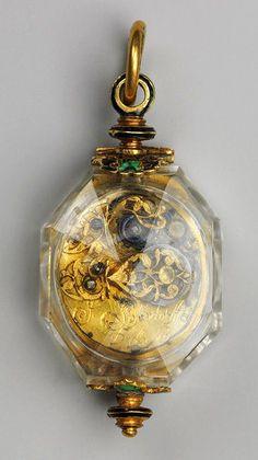 Watch, ca 1630 - 1640, movement by Johann Possdorffer, the Metropolitan Museum of Art.