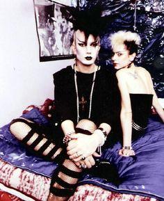 """Dark punks.  Originally Goths were called """"Dark Punks"""". The Goth label came later."""