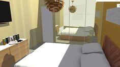 Vista de dormitorio principal.