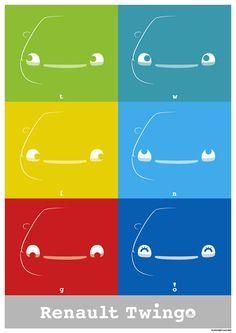 Original Poster Graphic / Renault Twingo