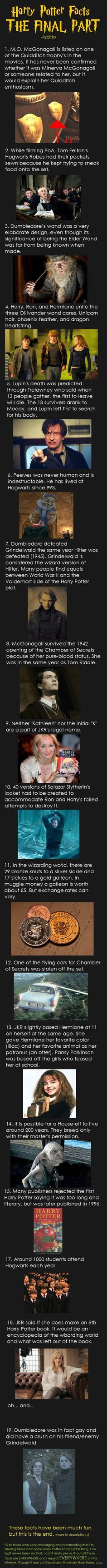 HP Facts. The last fact is, welll….. Let's say, VERY interesting! :S