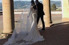 Kim Kardashian West and Kanye West's wedding album - Vogue Australia Kim Kanye Wedding, Kim Kardashian Wedding, Kim Kardashian Kanye West, Kim And Kanye, Wedding Album, Wedding Photos, Valentino Dress, Valentino Bags, Marrying My Best Friend