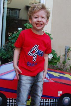Cars & trucks party shirt?