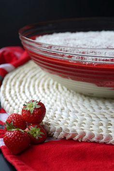 Experimente aus meiner Küche: Spaghetti-Eis-Dessert