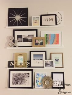 Emerson Grey Designs : Nursery Interior Designer: Styling shelves {our new home}