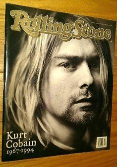 ROLLING STONE Magazine(UK)- 2nd June 1994 - Kurt Cobain 1967-1994 cover  #nirvana #magazine #cobain