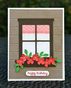 Krystal's Cards: Stampin' Up! Happy Scenes Summer #stampinup #krystals_cards #happyscenes #summer #happybirthdaycard #handmadefortheholidays #handstamped #papercrafts #cardmaking #stampsomething