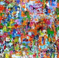 Acrílico sobre lienzo 30 x 30 cm Abstracto