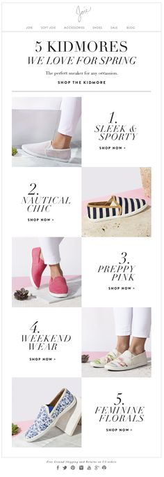 Spring Sneakers newsletter Shoes / Joie