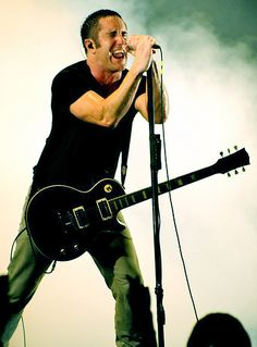 Happy birthday Trent Reznor of Nine Inch Nails! What's your favorite NIN song?
