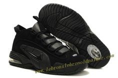 innovative design e5768 45b01 Nike Air Max Penny Retro Blackout - Penny Hardaway Shoes Penny Hardaway  Sneakers, Nike Air