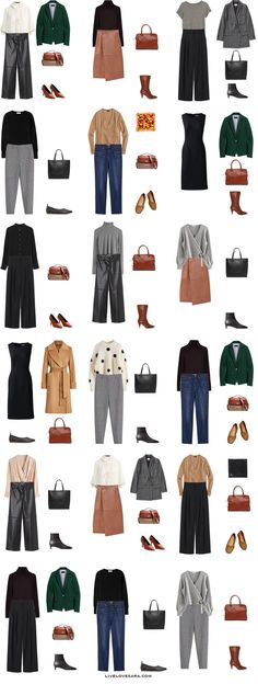 A winter work Capsule Wardrobe Work Outfit Ideas 1-18 | winter Wardrobe | winter Capsule Wardrobe | Fall Capsule wardrobe | Winter work wardrobe | All Season Capsule Wardrobe | Winter Work Outfit Ideas | livelovesara