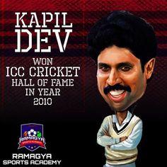 Like for India's one of the most talented cricketer Kapil Dev Ramlal Nikhanj! #Ramagya #RamagyaSportsAcademy #learn #train #play #coach #sports #games #winner #interesting #golf #football #cricket #kapildev #basketball