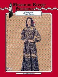 Cherokee Tear Dress Pattern