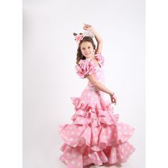 Vestido de flamenca niña por 110 €